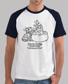 camiseta Baseball Ghibli