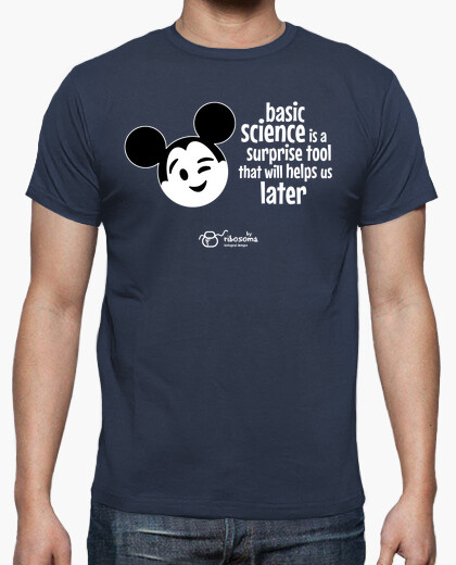 Camiseta Basic science ) (fondos oscuros)
