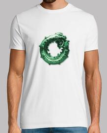 camiseta basica blanca Quetzalcóatl