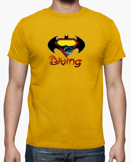 Camiseta Bat Diving