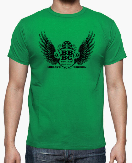 Camiseta BBBC Brave Bikers Man