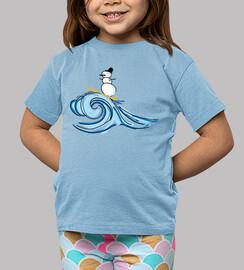 Camiseta bebe surf