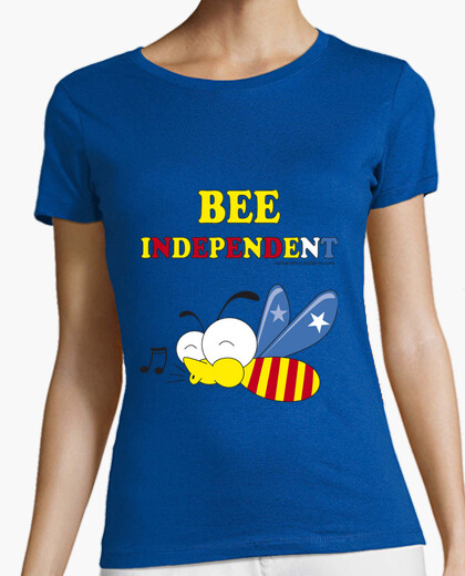 Camiseta Bee independent Mujer