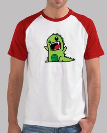 Camiseta Béisbol Dinosaurio Hombre