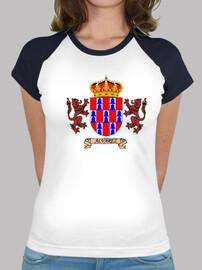 Camiseta beisbol Escudo Apellido Álvarez