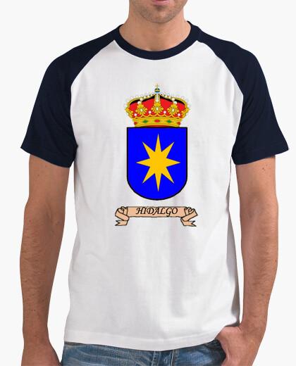 Camiseta beisbol Escudo Apellido Hidalgo