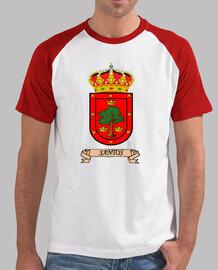 Camiseta beisbol Escudo Apellido Santos