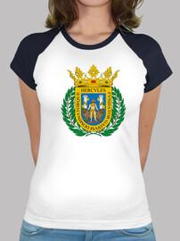 Camiseta beisbol Escudo de Cádiz