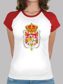Camiseta beisbol Escudo de provincia de granada