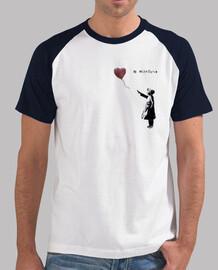 Camiseta beisbol para hombre - Bansky With Siria