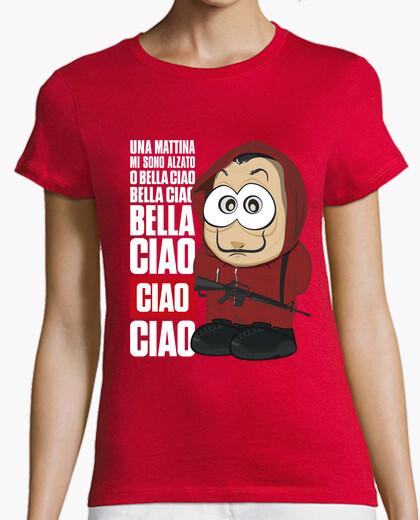 Camiseta Bella ciao - La casa de papel - chica
