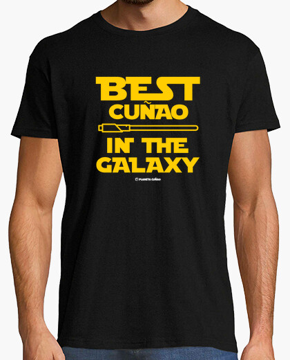 Camiseta Best cuñao in the galaxy