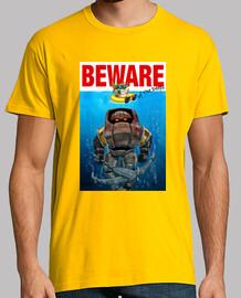 Camiseta Beware of the deeps