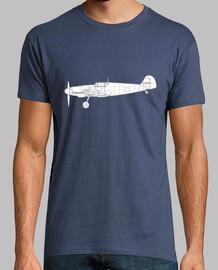 Camiseta bf109 side