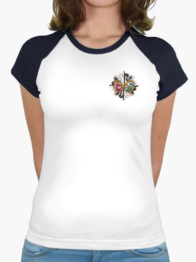 Camiseta Bicolor Mujer