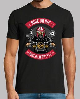 Camiseta Biker Retro Vintage Motorcycle Bikers Motos Moteros