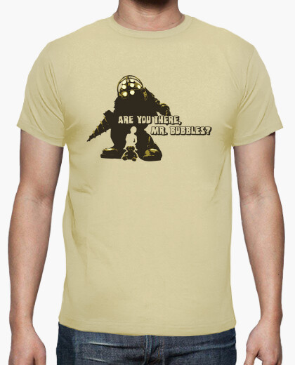 Camiseta Bioshock: Mr. bubbles