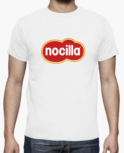 Camiseta blanca logo nocilla