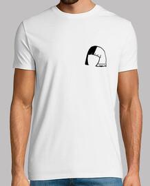 Camiseta Blanca Logo #TeamSiaFansSpain