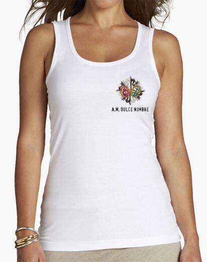 Camiseta Blanca Tirantes Mujer
