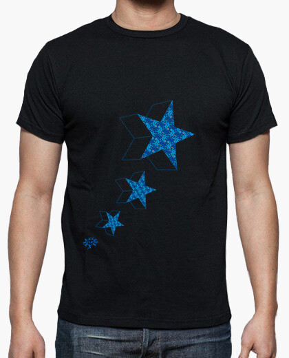 Camiseta BLUE STARS 3D ESCHER