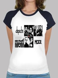 Camiseta b/n chica DM101