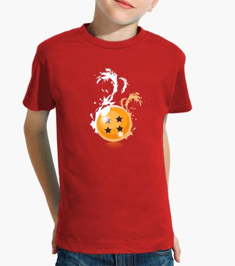 Ropa infantil Camiseta Bola 4 Estrellas Negras