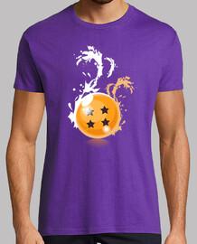 Camiseta Bola 4 Estrellas Negras