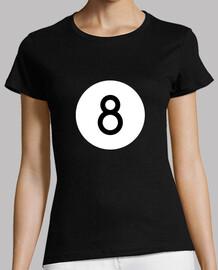 Camiseta Bola 8 Mujer