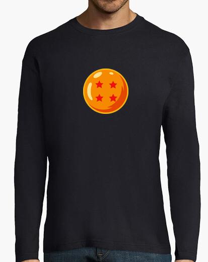 Camiseta Bola de dragón 4 manga larga hombre