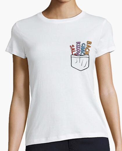 Camiseta Bolsillo de bailes