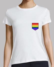 Camiseta bolsillo orgullo LGBTI