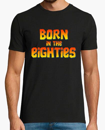 Camiseta Born in the eighties