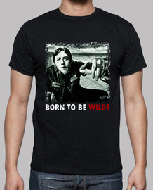 camiseta born to be wilde
