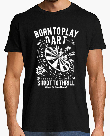 Camiseta Born to Play Dart