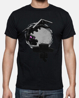 Camiseta  boss fight Minecraft