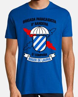 Camiseta BpacII 6Cia mod.1