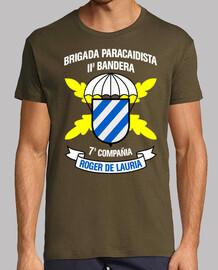 Camiseta BpacII 7Cia mod.2