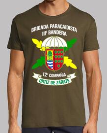 Camiseta BpacIII 12Cia mod.2