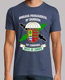 Camiseta BpacIII 14Cia mod.3