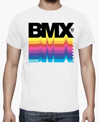 Camiseta Brave Bikers BMX Black