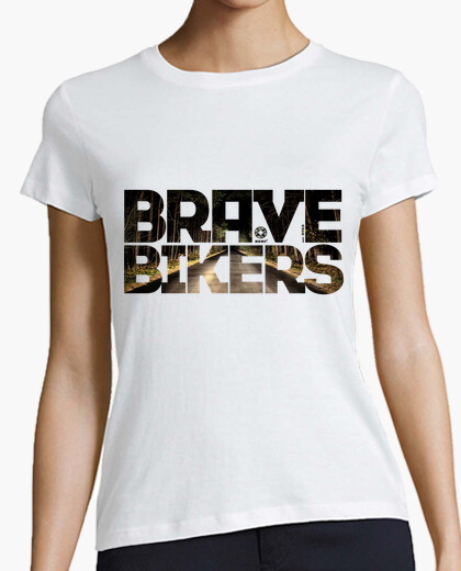 Camiseta Brave Bikers Forest Woman