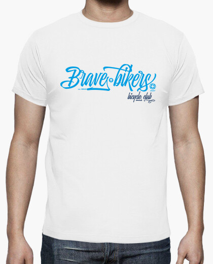 Camiseta Brave Bikers Script Man