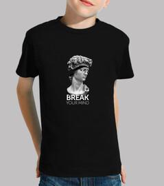 Camiseta Break Your Mind - Niño