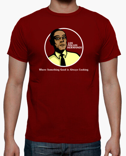 Camiseta BREAKING BAD pollos hermanos