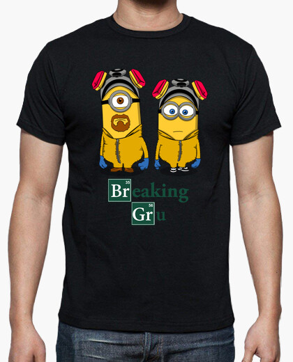 Camiseta BREAKING GRU