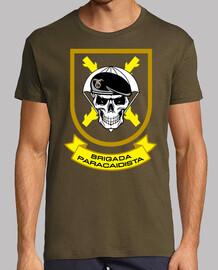 Camiseta Bripac. Calavera mod.4