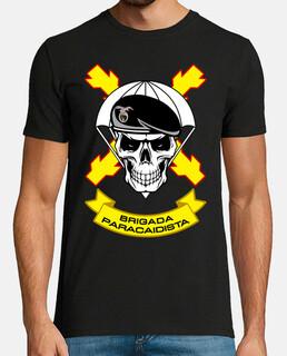 Camiseta Bripac. Calavera mod.8
