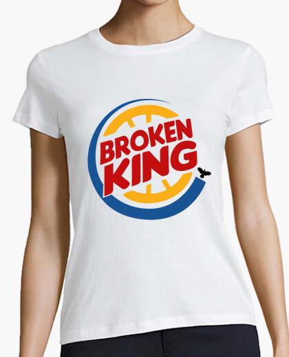 Camiseta Broken King