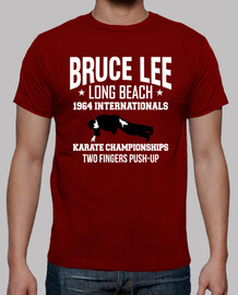 Camiseta Bruce Lee. Long Beach mod.4